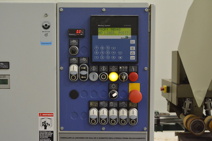 5038 - STRUGARKA CZTEROSTRONNA WEINIG POWERMAT 500