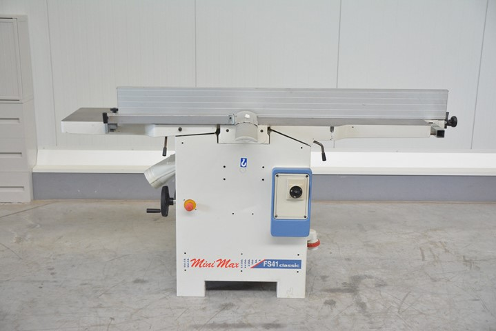 4871 - SURFACE AND THICKNESS PLANER SCM MINIMAX