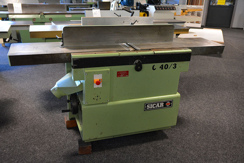 3640 - SURFACE AND THICKNESS PLANER SICAR
